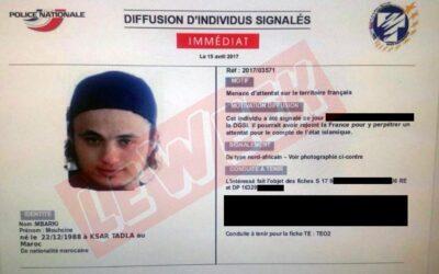 Mouhcine Mbarki, recherché par la DGSI, pourrait préparer un attentat terroriste en France